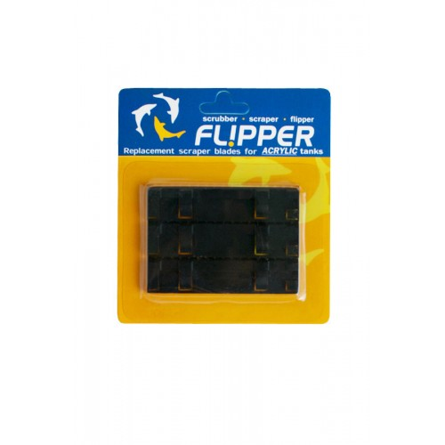 Flipper ABS Standard Replacement Blades for Acrylic Tanks - 3 per pkg