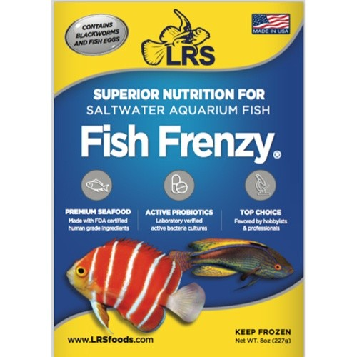 Lrs reef frenzy 8oz pack reef concept for Lrs fish food