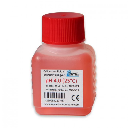 GHL Calibration Fluid pH4